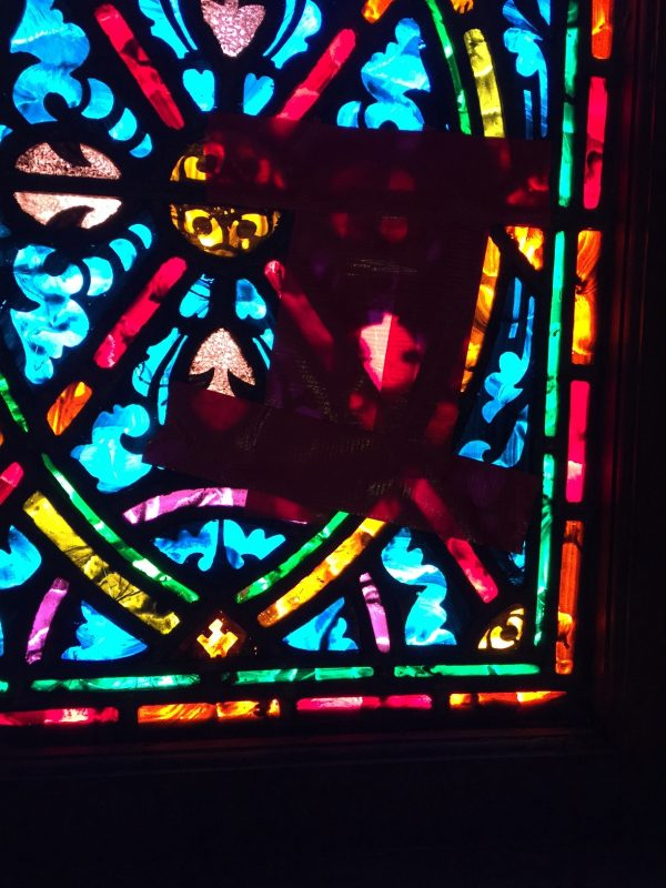 renovated stained glass