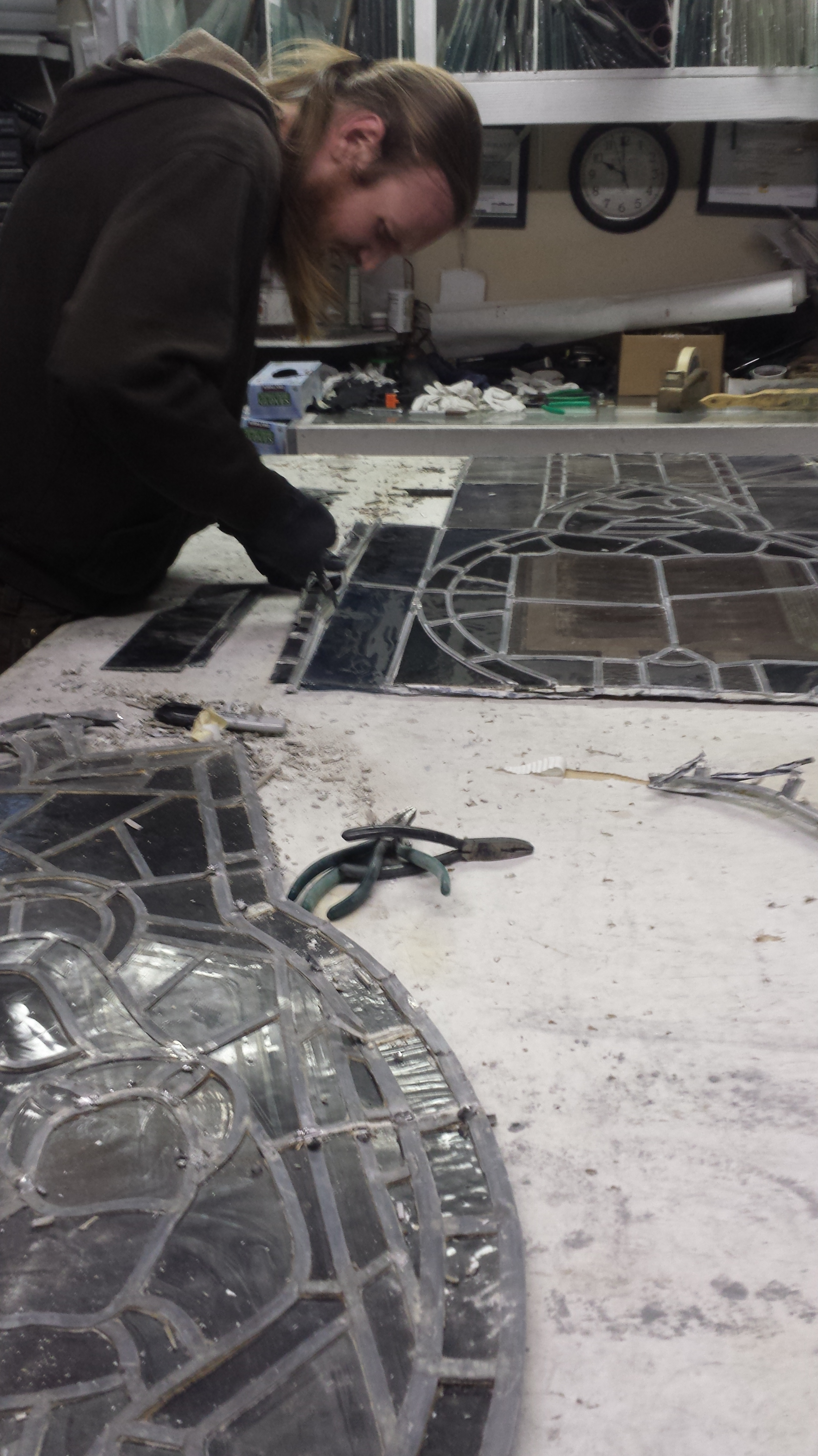 church stained glass restoration window repair parts