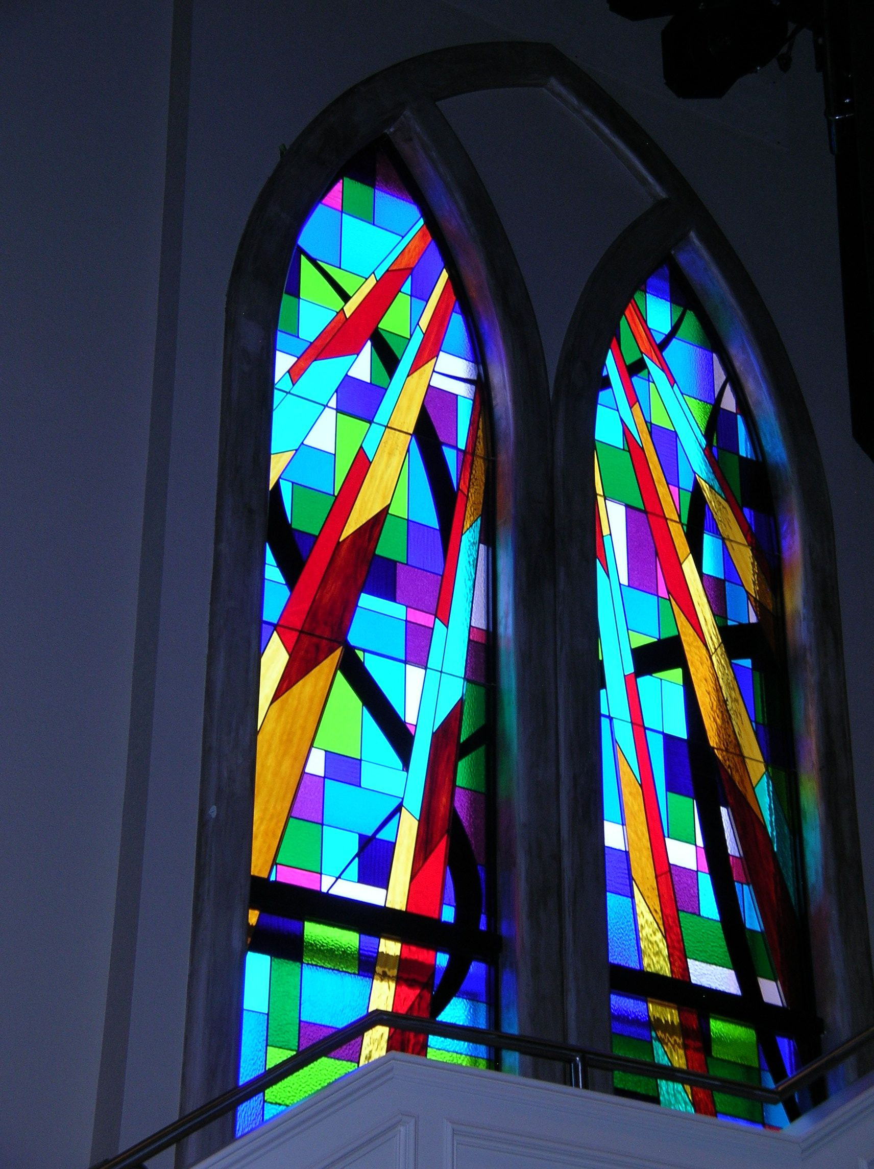 tulsa religious stained glass repair