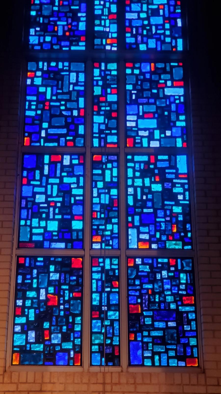 dalle de verre glass restoration