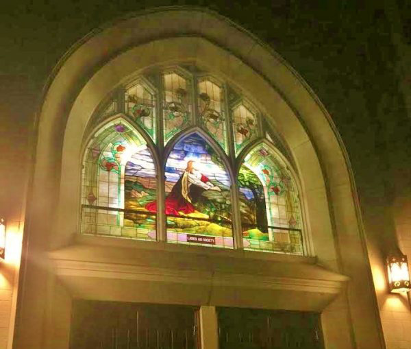 leavensworth church stained glass restoration