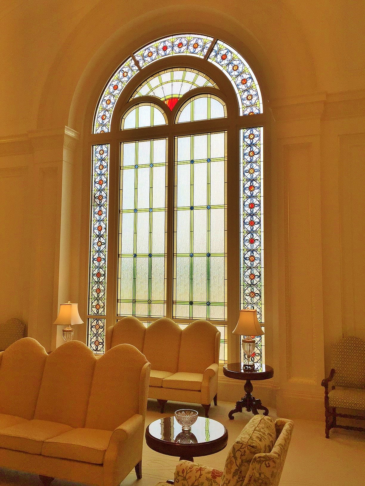 synagogue stained glass repair restoration