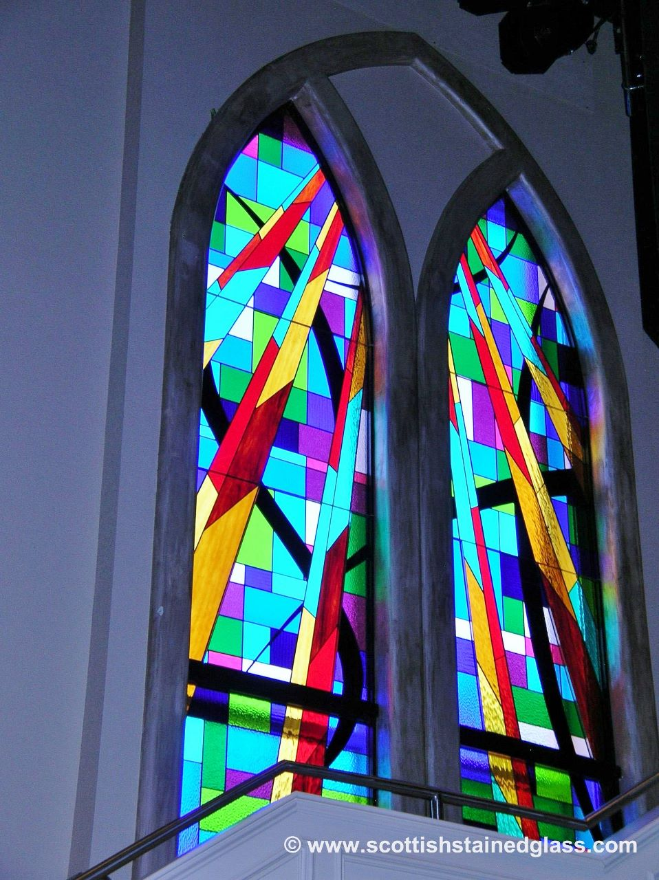 synagogue stained glass restoration